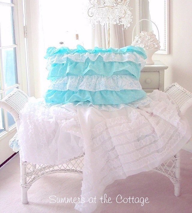 Dreamy Shabby Chic Cottage Bedding