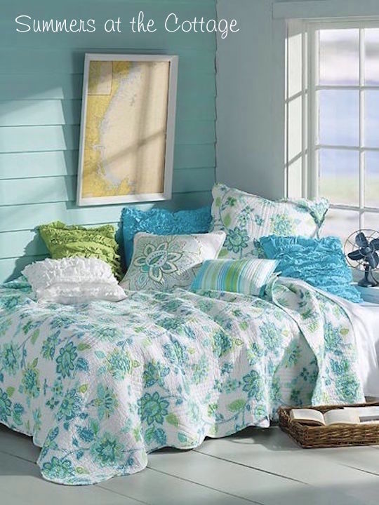 Endless Summers Seaside Beach House Bedding