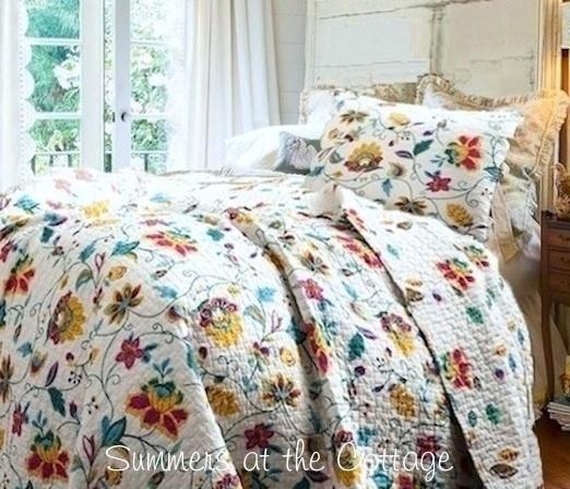 Cottage Garden Quilt Set
