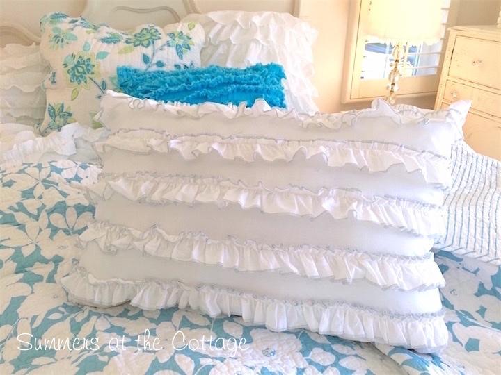White Petticoat Ruffles