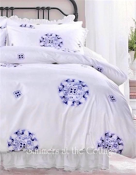 Dreamy Pink Ruffle Comforter