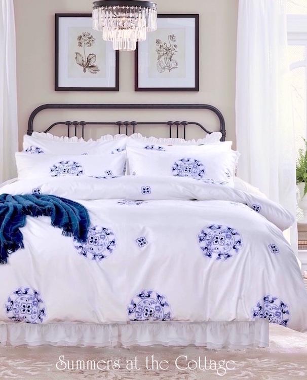 Dreamy Pink Ruffled Bedding
