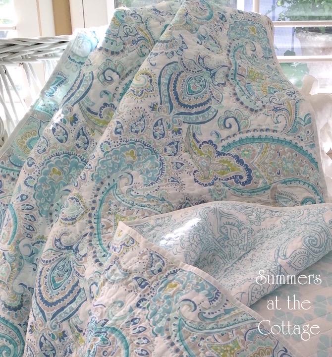 Paisley Quilt Set
