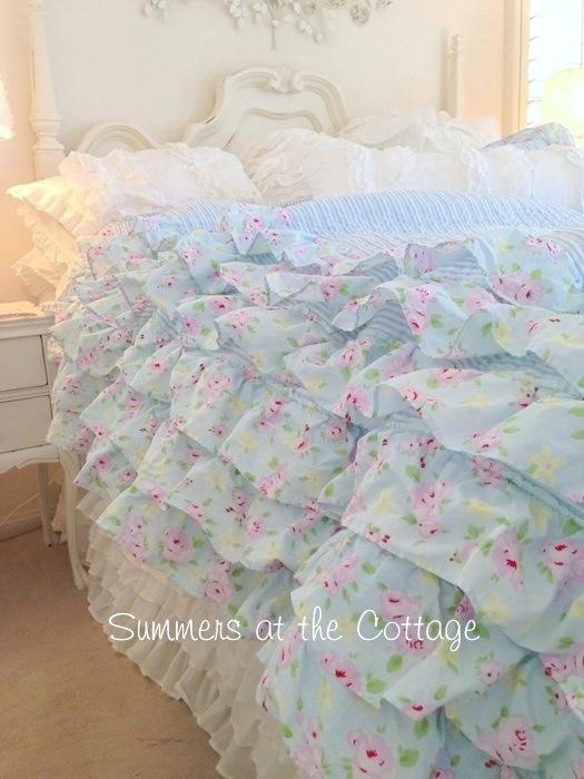 Pink Roses Petticoat Ruffles