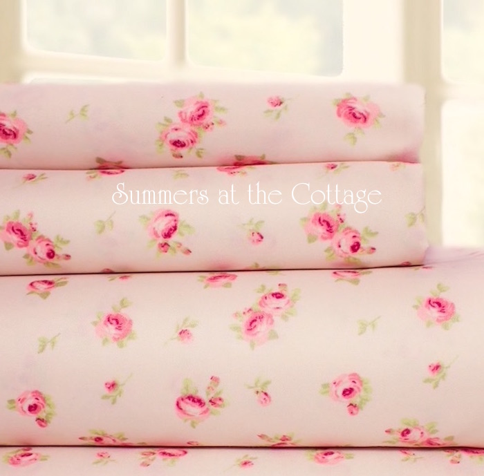 Pink Roses Sheet Set!