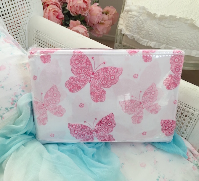 Shabby Chic Pink Butterfly