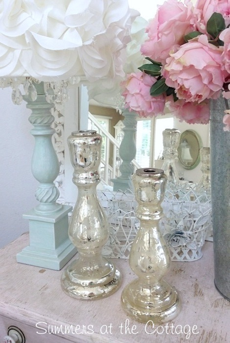 Vintage Bathroom Mirror French Country