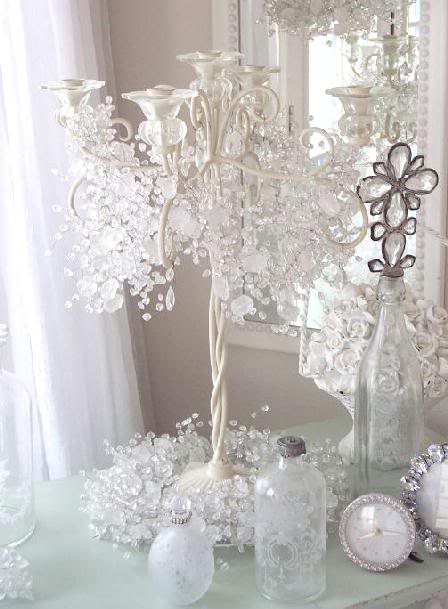 Crystal Garland For Christmas Tree