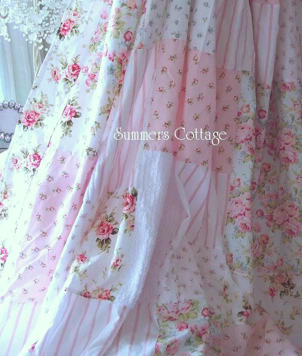 Cottage Shabby Chic Style Shower Curtain