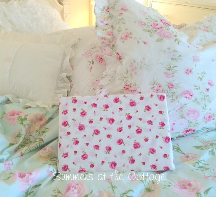 Cherry Blossom English Cottage Sheets