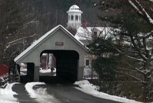 Snowy Bridge Road