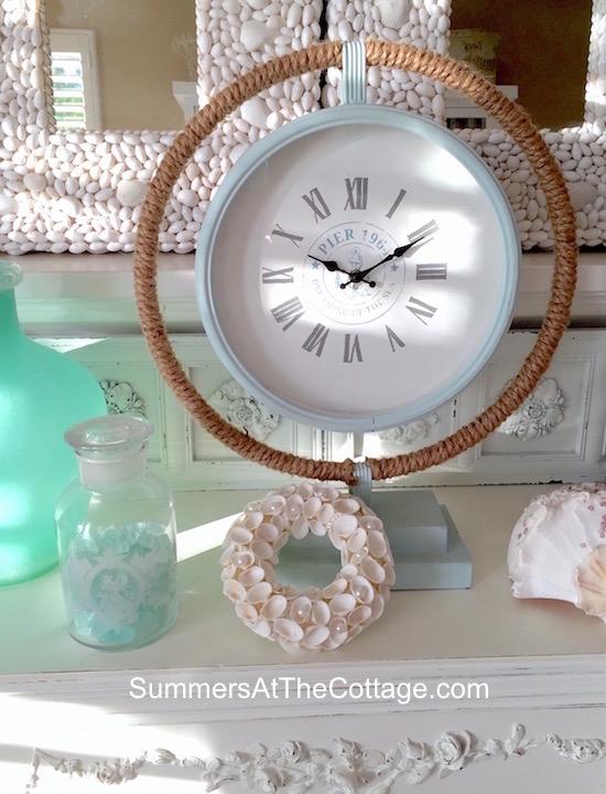 Dreaming of the Sea Beach Clock