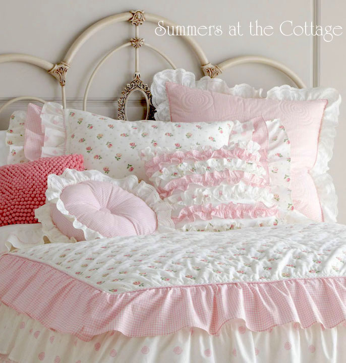 Darling Ruffled Pillow