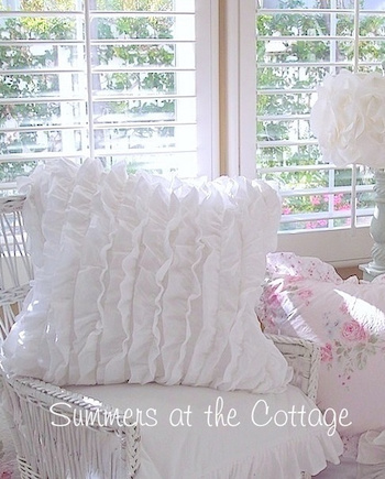 Anthology Ruffled Euro Pillow Sham