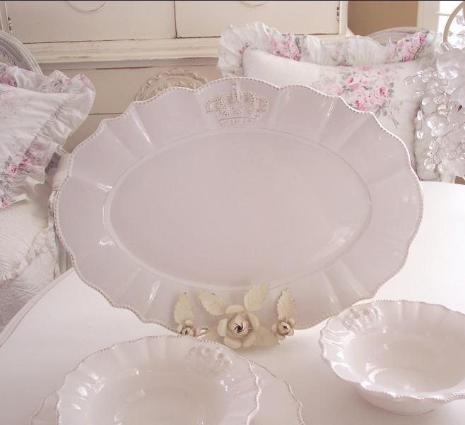 Crown Logo Platter