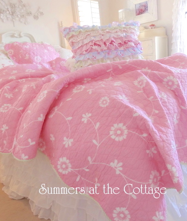 Princess Pink Flowers Set