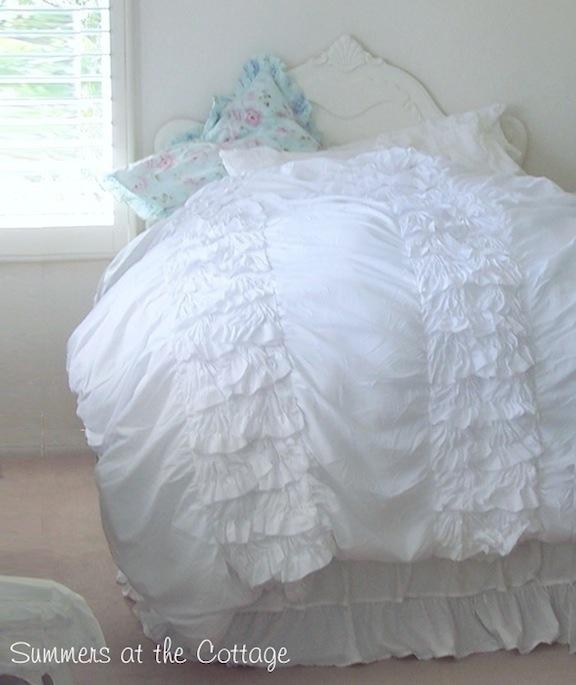 Heavenly White Ruffles