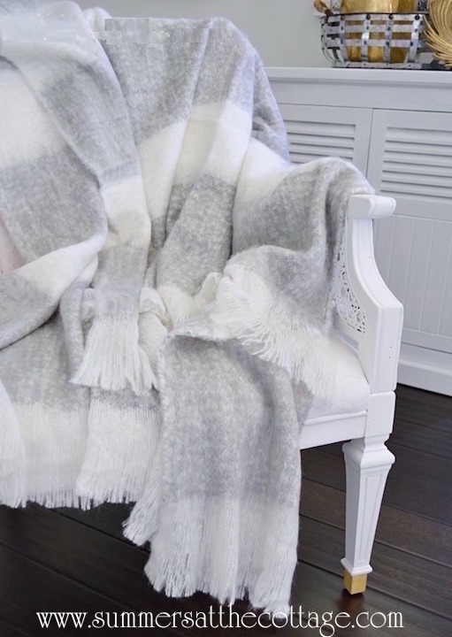 Dove Gray Cashmere Soft Throw Blanket
