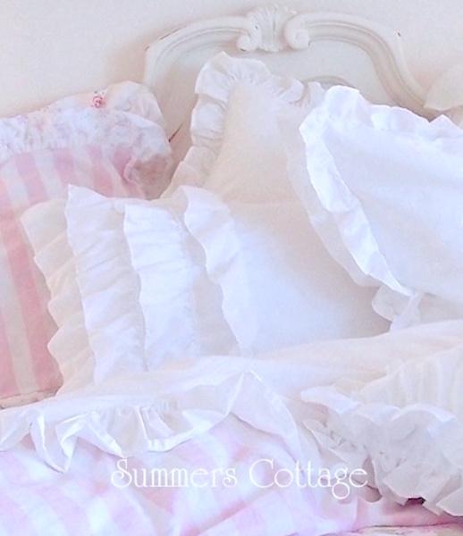 Dreamy White Ruffles