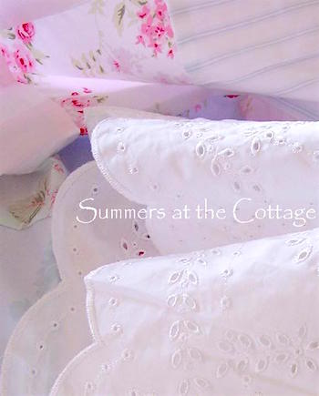 White Ruffle Embroidered Sheets