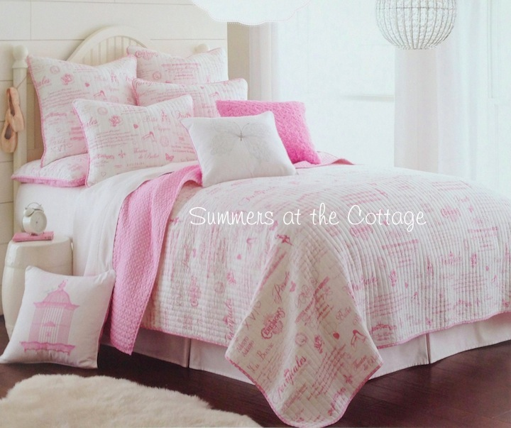 Paris Pink Fairy Tales Bedding