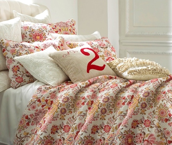 French Chateau Flowers Bedding