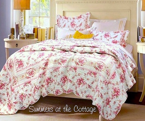 French Market Country Cottage Quilt
