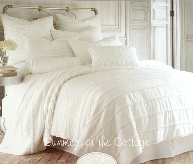 Queen French Vanilla Creamy Ivory Quilt