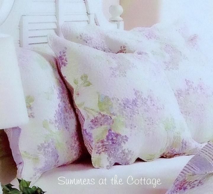 Lavender Lilacs Pillow Sham