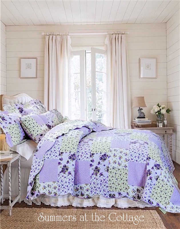 Lavender Roses Ashley Sage Bedding