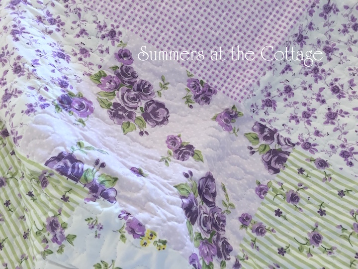 Ashley Sage Lavender Yellow Roses Bedding