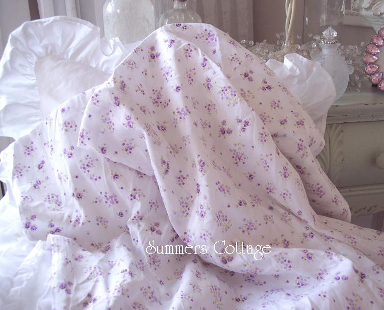 Lavender Roses Sheet Set
