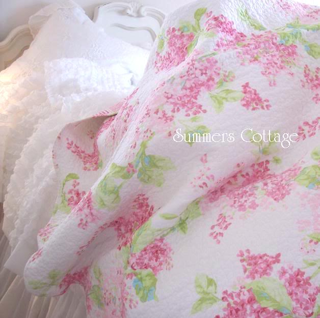 Shabby Cottage Chic Bedding Twin Quilts Comforter Rag