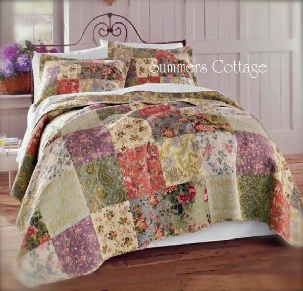 French Country Mulberry Cottage Quilt
