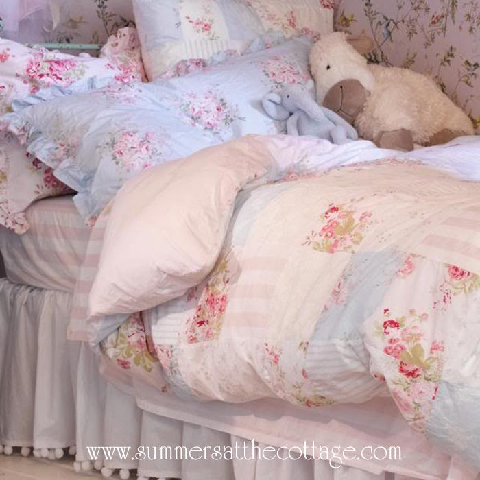 Shabby Chic Floral Patchwork Duvet