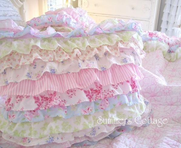 Ruffled Cottage Pillow Sham