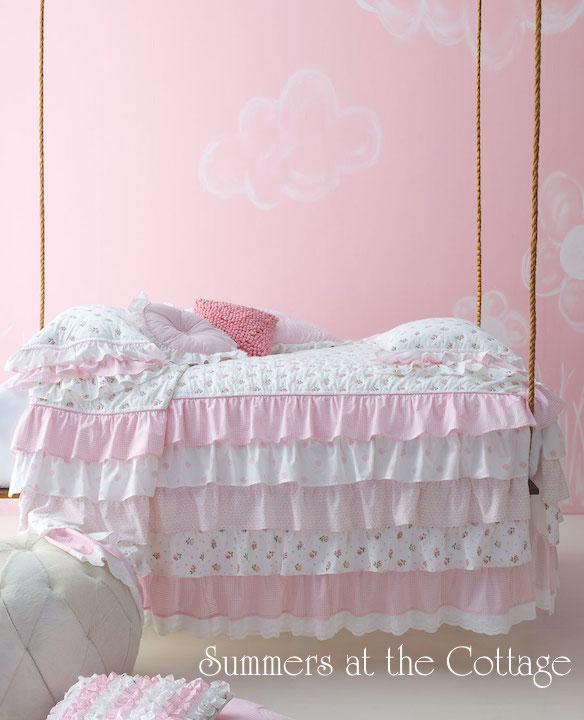 Petticoat Ruffles Bedding