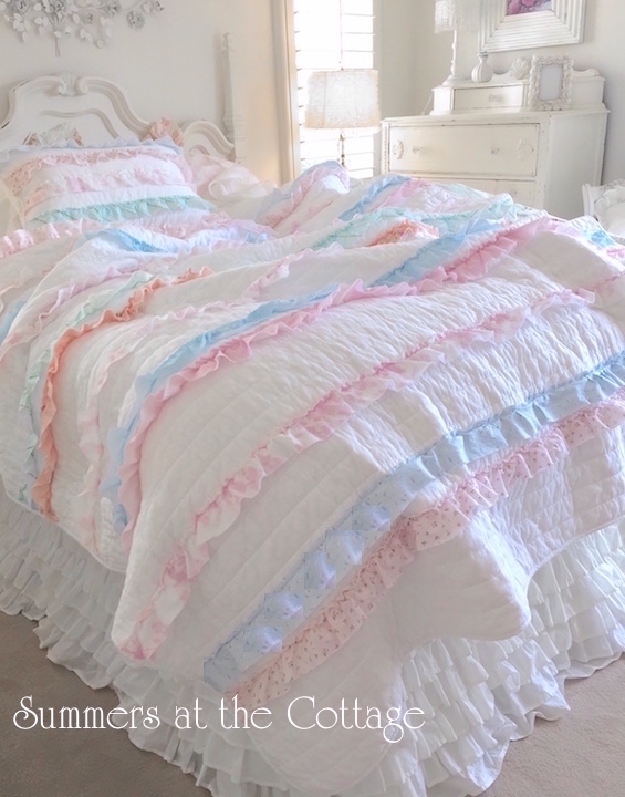 Ruffled Cottage Pillow Sham