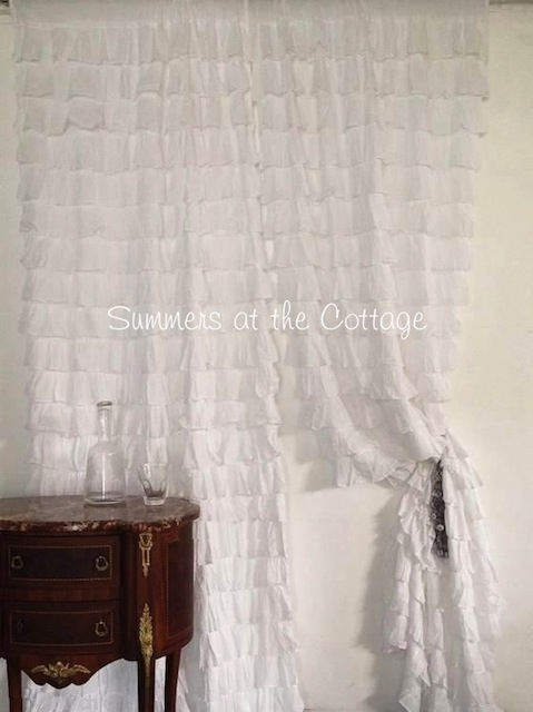 White Petticoat Curtain