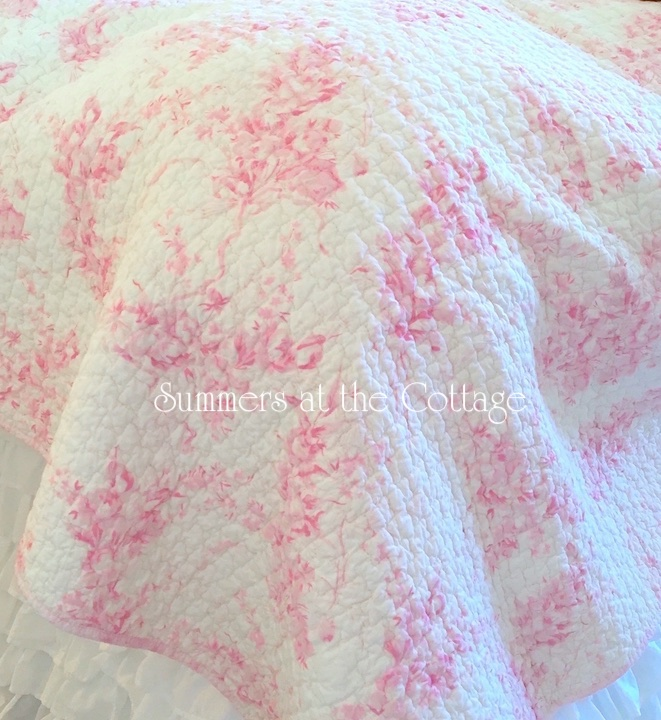 Bouquets of Pink Roses Bedding