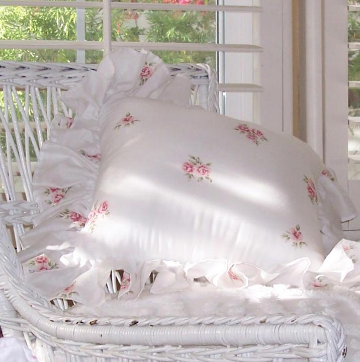 Pink Roses Pillow