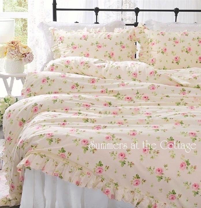 Pink Roses Bedding