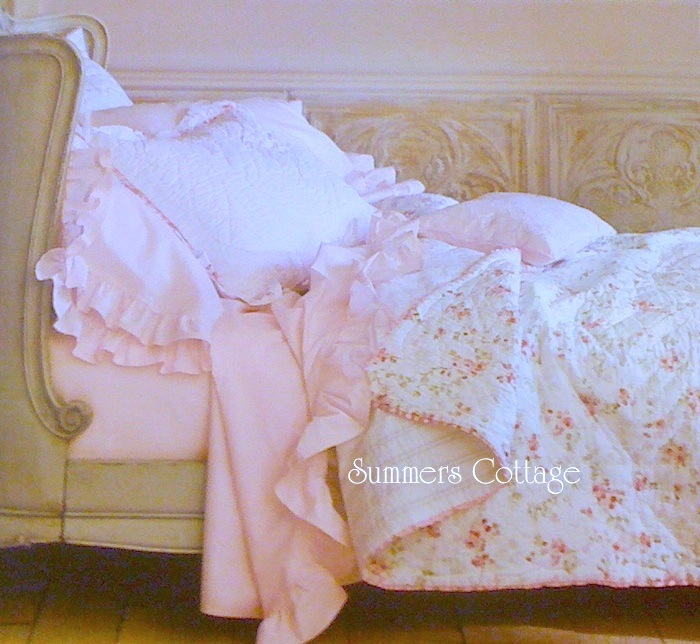 Simply Shabby Chic Pink Ruffle Sheets