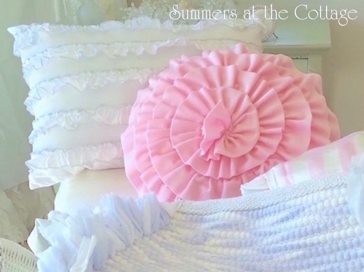 Pink Velvet Ruffles!