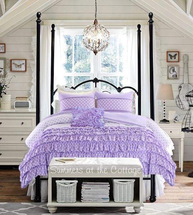 Preppy Ruffled Bedding