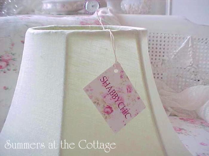 Rachel Ashwell Shabby Chic Linen Mint Julep Shade