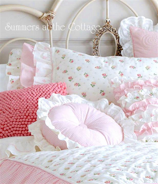 Darling Ruffled Pillow