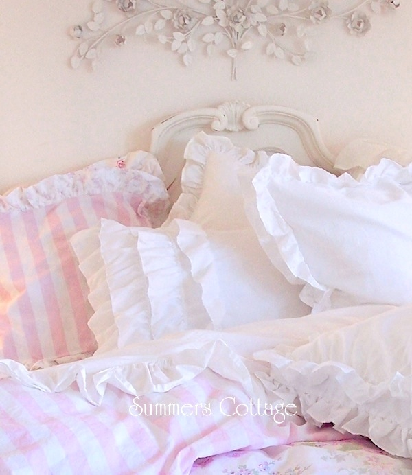 Layered Ruffled Pillow Sham