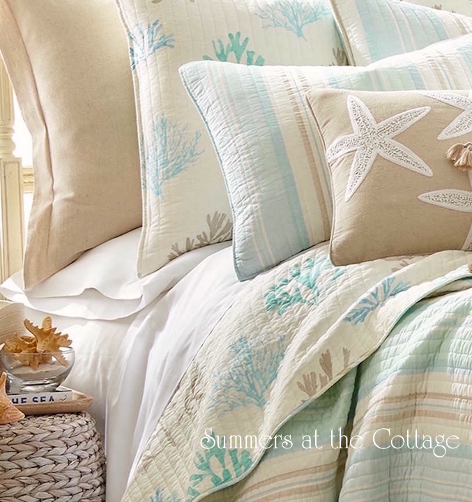 Beach House Coastal Bedding