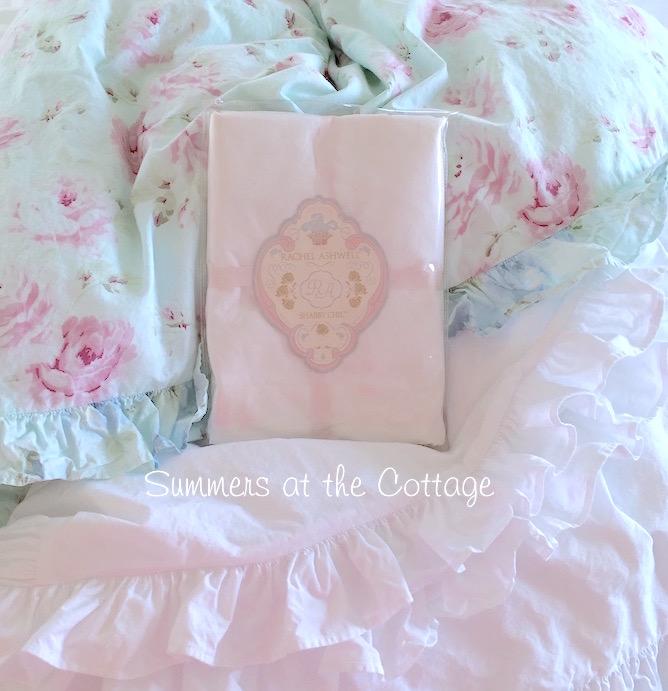 Shabby Chic Rachel Ashwell White Ruffle Duvet Set
